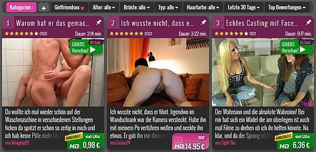 HD Porno Topliste Girlfriendsex