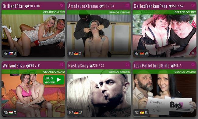 Paar Sexcams live